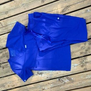 Royal Blue Limited Edition Figs Scrubs